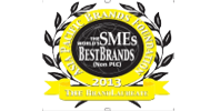 The Brandlaureate SME Best Brand 2013 in Corporate Branding